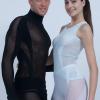Innovative warp-knit seamless styles by Cifra.