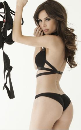 Swimgerie Femme Noir collection 2011.
