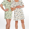 Looks from WildBLEU's CoolBLEU sleepwear line.