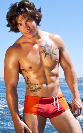 A style from BoyRio's 2012 men's swimwear collection.