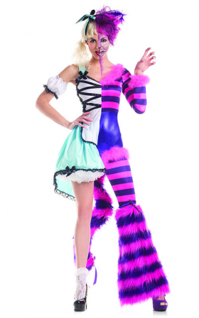 """""""Split Personality"""" costume from Party King/Raveware"""