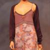 Cyell Intimates: Lace trim lilac nightdress.