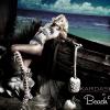 Kourtney Kardashian in a look from Kardashians for Beach Bunny Swimwear.