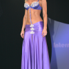 PAE Fashions: Padded bra top attached to full-length back panel front gathered skirt.