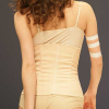 Esbelt Brazilian Bodywear: Nude shapewear waistbelt and bottom.