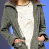 Regence: Gray pajama top and jacket.