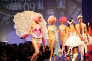 Ultra Fashion Show in Paris.