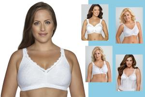Exquisite Form's new wirefree bra joins a family of fuller bras at the company.
