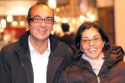 Founders of Princesse Tam Tam - Mourad Amarsy and his wife Loumia Hiridjee.