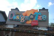 The new  Design-a-Tee store at Downtown Disney.