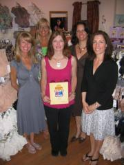 From left to right: Exeter store staff members Shelley Abby, Karen Hede, Lauri Sowers and co-owners Deborah Robb and Deanna Tinios