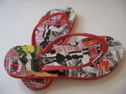 WhiteSaki: NYC flip-flops