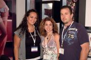Hope Peniasian of Biatta with Natasha and Daniel O'Konski of Born to Shop.