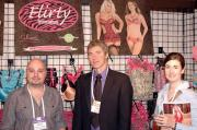 Navid Javidzad of Flirty Intimates with Kevin Cooney and Mackenzie Burbank of Love Zone.