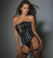 Shirley corset.