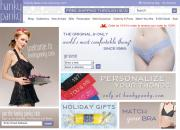 Hanky Panky website homepage.
