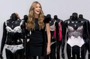 Elle Macpherson with her Spring 2010 line.