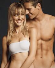 Samantha unlined strapless bra, from the Gilly Hicks site.