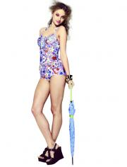Liberty of London swim style for Target.