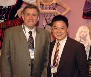 David Weinstein and Mike Tsai of Leg Avenue.