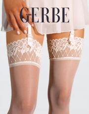 Gerbe: Sun satin silk stockings.