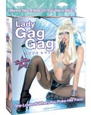 Pipedream: Lady Gag Gag Love Doll packaging.