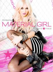 Material Girl style.