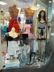 La Boutique de la Lingerie storefront.