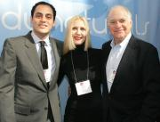 Yossi Nasser, Camille Block, designer for Gelmart and Jim Mogan.