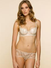 Lux Noir, inspired by the Parisian Skyline, by Elle Macpherson Intimates for autumn/winter 2011.