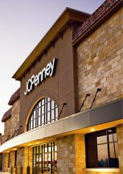 A JCPenney department store.