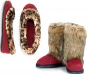 New trend-driven women's slippers by Dearfoams for Fall 2011.