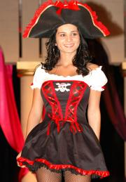 A Pirate costume by Dreamgirl.