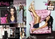 Candie's marketing materials featuring Vanessa Hudgens.