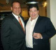 Arthur Lavitt, division vice president of Leg Apparel and Michael Spolansky, owner of Amiee Lynn/Leg Apparel.