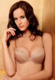 Nika Globokar in the Wow Push-up bra by Lisca.