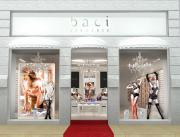 A Baci Lingerie store front.