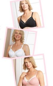 Post-surgery bra styles from Marks & Spencer.