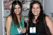 Margarita Serrano of Touché with retailer Claudia Dubuc of Marc & Max.