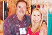 Van Fagan and Rhonda Shear from Shear Enterprises at CURVENY.