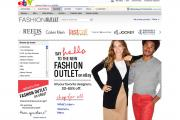 The Fashion Outlet e-commerce site from eBay.