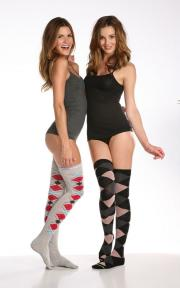 New sock styles from Honeydew Intimates.