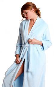 A plush robe from Toute la Nuit.