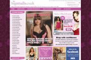 U.K. retailer BigSmalls' updated website.