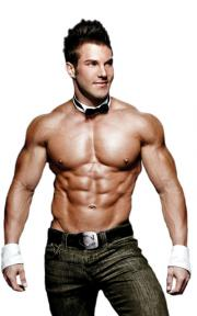 A licensed Chippendales accessory set from Elope.