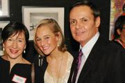 Laurence Teinturier, Lindsay Peterson and Joseph Smith at the Underfashion Club's annual holiday soiree.