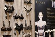 An exhibit at the 2012 Salon International de la Lingerie.