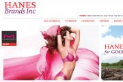 Maidenform, now offered on the HanesBrands website.
