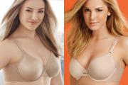 New Olga 'On Your Side' and Warner's 'No Side Effects' bras.