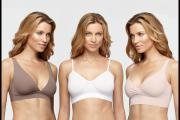 Ava Low Back Plunge Bra, Audrey Day Bra and Rita Full Coverage Surplice Bra